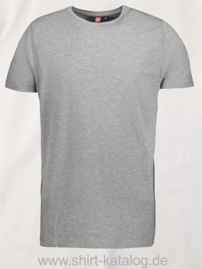 0594-Strech-Herren-T-Shirt-grau-meliert-front