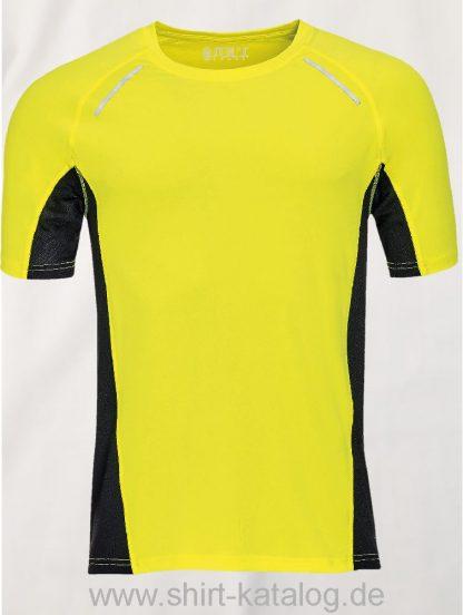 11516-Sols-Men-Short-Sleeve-Running-T-Shirt-Sydney-Neon-Yellow