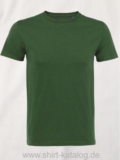 16823-Sols-Mens-Short-Sleeved-T-Shirt-Milo-Bottle-Green