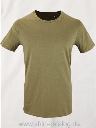 16823-Sols-Mens-Short-Sleeved-T-Shirt-Milo-Khaki