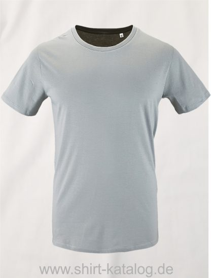 16823-Sols-Mens-Short-Sleeved-T-Shirt-Milo-Pure-Grey