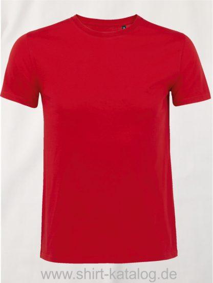 16823-Sols-Mens-Short-Sleeved-T-Shirt-Milo-Red