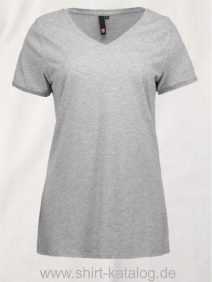 25935-ID-Identity-core-v-neck-damen-0543-grey-melange