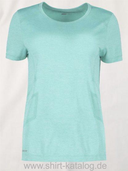 G11020-Woman-seamless-s-s-T-Shirt-mint-meliert-front