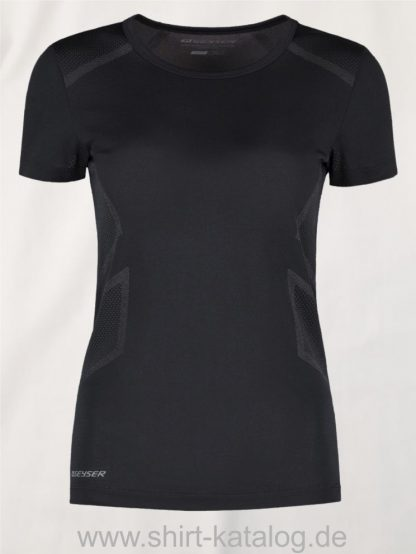 G11020-Woman-seamless-s-s-T-Shirt-schwarz-front