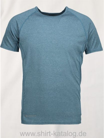 G21002-Man-Active-s-s-T-Shirt-petrol-meliert-front