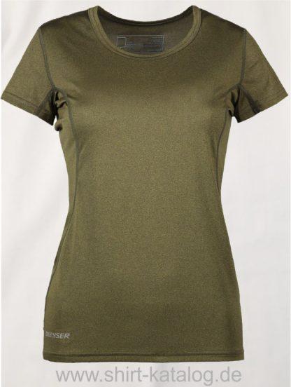 G21002-Woman-Active-s-s-T-Shirt-oliv-meliert-front