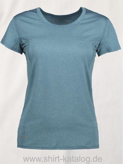 G21002-Woman-Active-s-s-T-Shirt-petrol-meliert-front