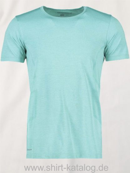 G21020-Man-seamless-s-s-T-Shirt-mint-meliert-front