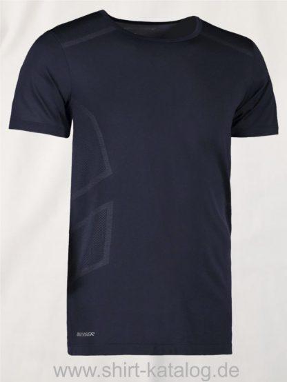 G21020-Man-seamless-s-s-T-Shirt-schwarz-front
