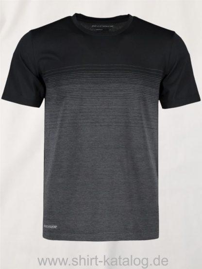 G21024-Man-seamless-s-s-T-shirt-striped-schwarz-front