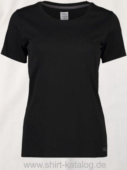 S630-The-O-Neck-Ladies-schwarz-front