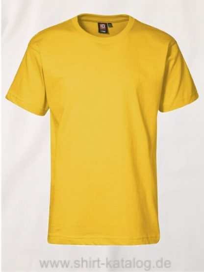 T-TIME-T-Shirt-40510-gelb