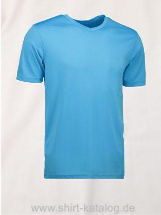id2030-YES-t-shirt-men cyan