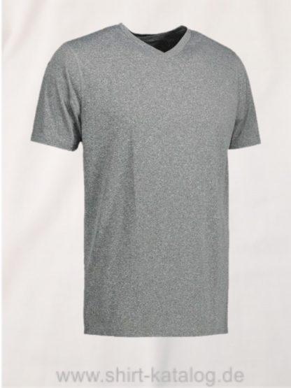 id2030-YES-t-shirt-men grau