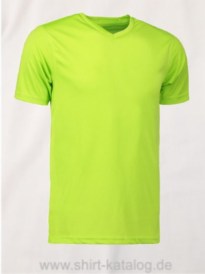 id2030-YES-t-shirt-men lime