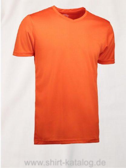 id2030-YES-t-shirt-men orange