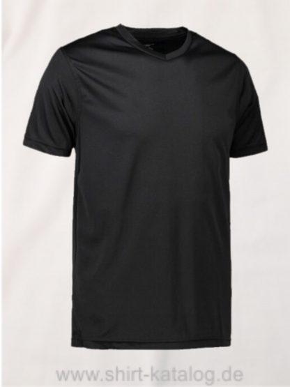 id2030-YES-t-shirt-men schwarz