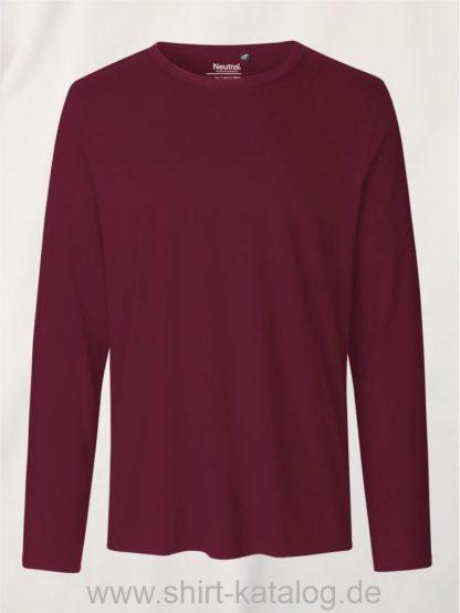 10165-Neutral-Mens-Long-Sleeve-T-Shirt-bordeaux