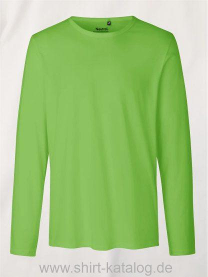 10165-Neutral-Mens-Long-Sleeve-T-Shirt-lime