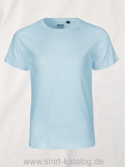10185-Neutral-Kids-Short-Sleeve-T-Shirt-light-blue