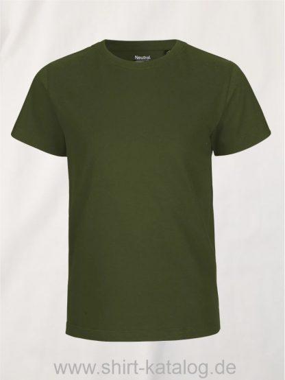10185-Neutral-Kids-Short-Sleeve-T-Shirt-military