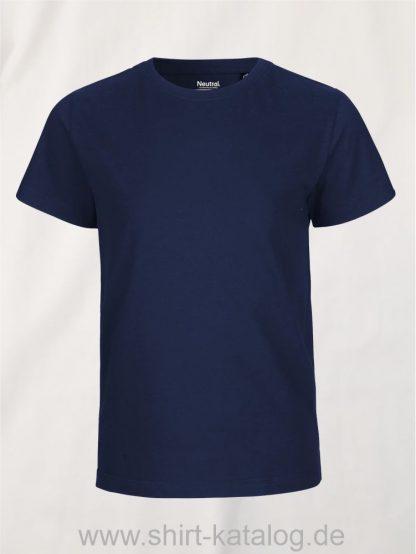 10185-Neutral-Kids-Short-Sleeve-T-Shirt-navy