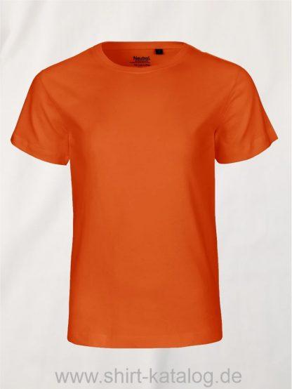 10185-Neutral-Kids-Short-Sleeve-T-Shirt-orange