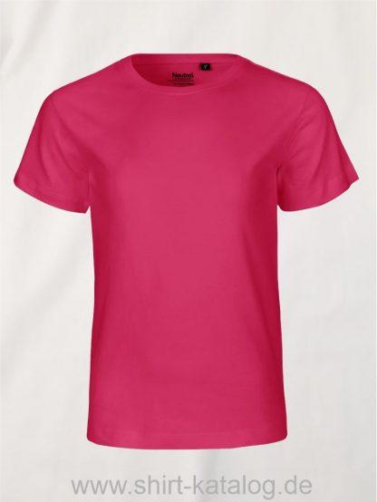 10185-Neutral-Kids-Short-Sleeve-T-Shirt-pink
