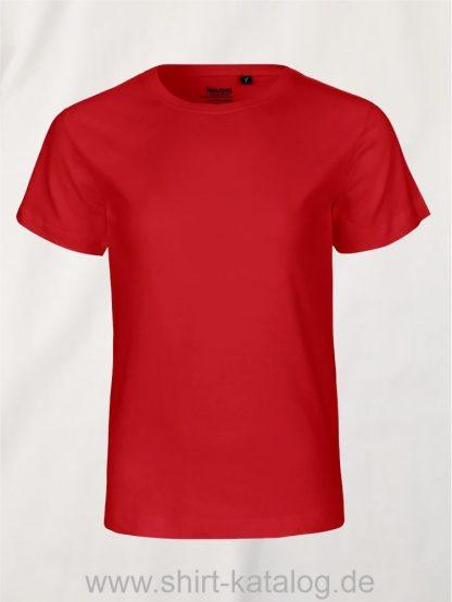 10185-Neutral-Kids-Short-Sleeve-T-Shirt-red