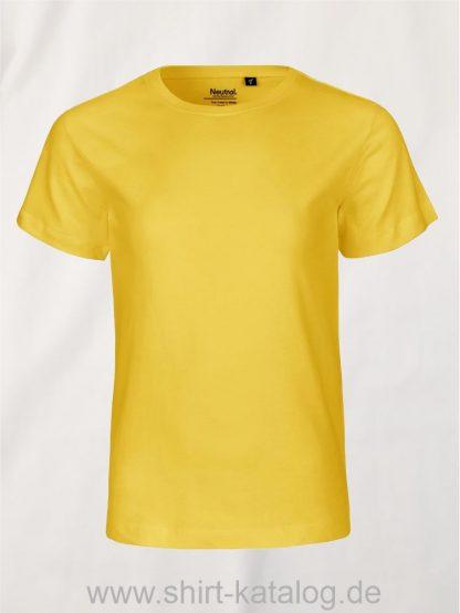 10185-Neutral-Kids-Short-Sleeve-T-Shirt-yellow