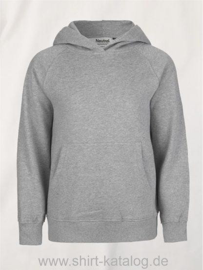 10186-Neutral-Kids-Hoodie-sports-grey