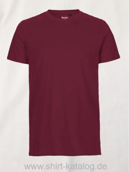 10197-Neutral-Mens-Fit-T-Shirt-bordeaux