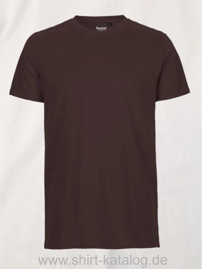 10197-Neutral-Mens-Fit-T-Shirt-brown