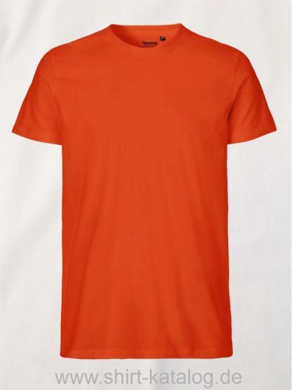 10197-Neutral-Mens-Fit-T-Shirt-orange