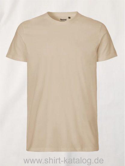 10197-Neutral-Mens-Fit-T-Shirt-sand