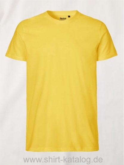 10197-Neutral-Mens-Fit-T-Shirt-yellow