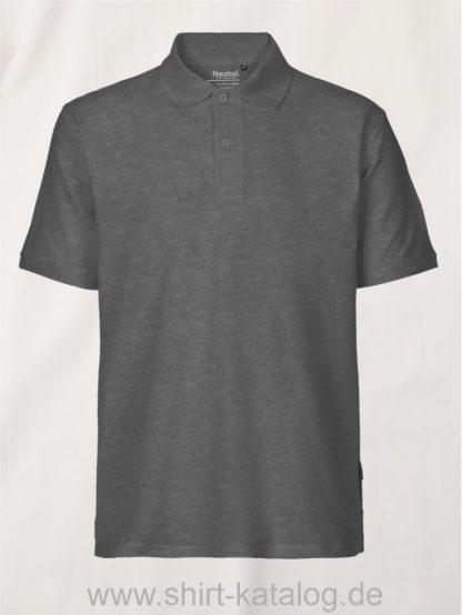 11127-Neutral-Mens-Classic-Polo-dark-heather