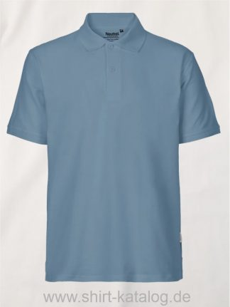 11127-Neutral-Mens-Classic-Polo-dusty-indigo