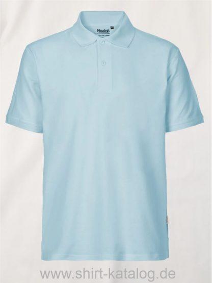 11127-Neutral-Mens-Classic-Polo-light-blue