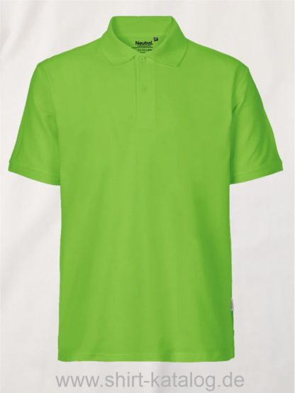 11127-Neutral-Mens-Classic-Polo-lime