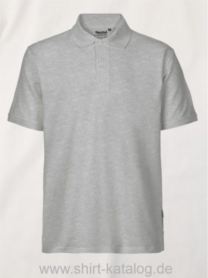 11127-Neutral-Mens-Classic-Polo-sports-grey