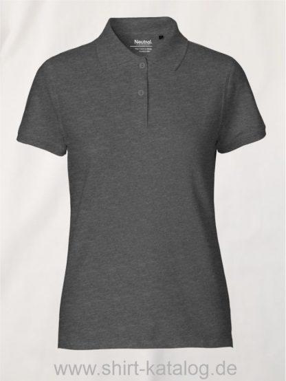 11128-Neutral-Ladies-Classic-Polo-dark-heather