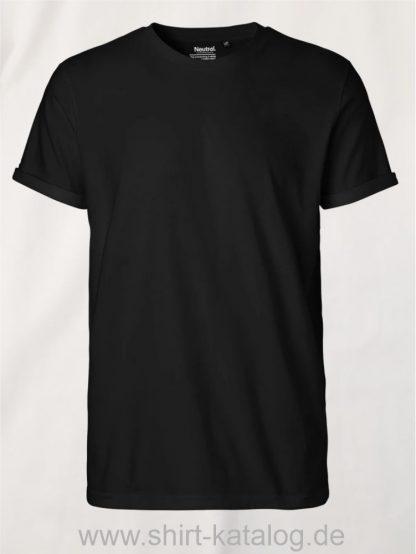 11132-Neutral-Mens-Roll-Up-Sleeve-T-Shirt-black