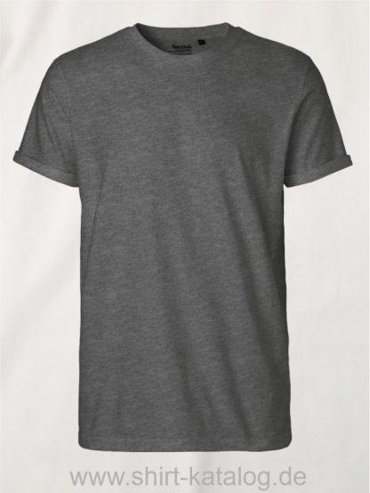 11132-Neutral-Mens-Roll-Up-Sleeve-T-Shirt-dark-heather