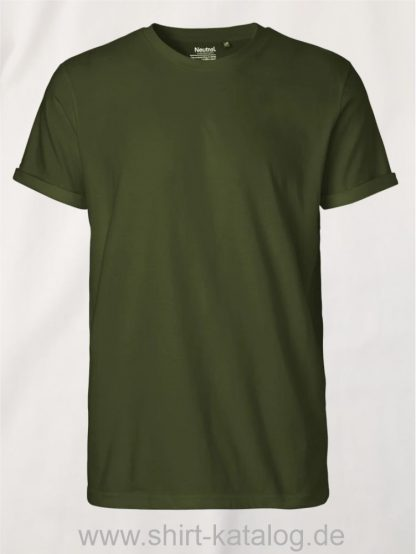 11132-Neutral-Mens-Roll-Up-Sleeve-T-Shirt-military