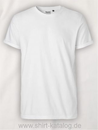 11132-Neutral-Mens-Roll-Up-Sleeve-T-Shirt-white