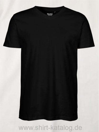 11133-Neutral-Mens-V-Neck-T-Shirt-black
