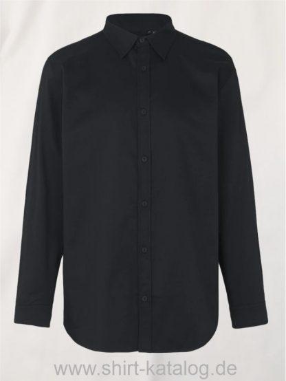 11140-Neutral-Mens-Twill-Shirt-black