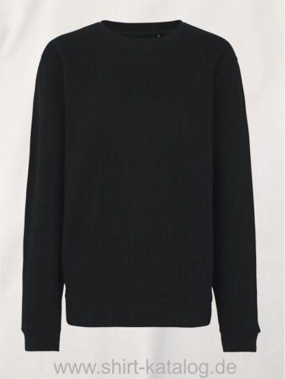 11142-Neutral-Unisex-Workwear-Sweatshirt-black